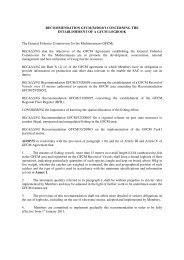 RECOMMENDATION GFCM/34/2010/1 CONCERNING THE ...
