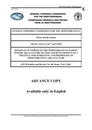 ADVANCE COPY Available only in English - FAO Sipam