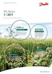 RA-News 1 / 2011 - Danfoss