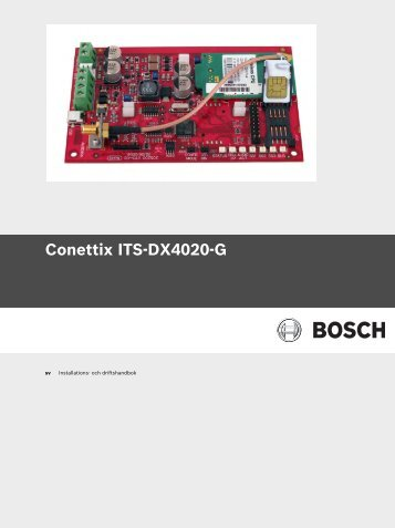 Conettix ITS-DX4020-G - Bosch Security Systems