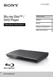 Blu-ray Disc™ / DVD Player - Amazon S3