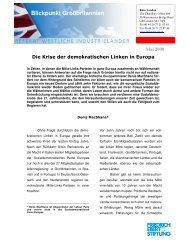 Die Krise der demokratischen Linken in Europa - Blogs