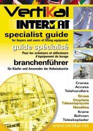 specialist guide guide spécialisé branchenführer guide spécialisé