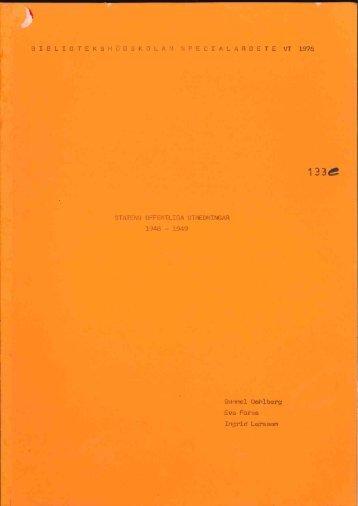 1976 nr 133.pdf - BADA - Högskolan i Borås