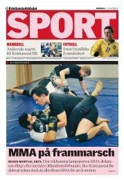 MMA på frammarsch - IQ Pager