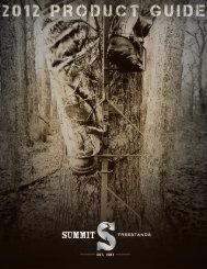 summit's tree stand safety rope climbing system is another ...