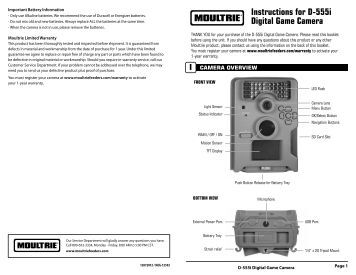moultrie game camera a5 manual
