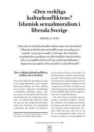 Den verkliga kulturkonflikten«? Islamisk ... - Malmö högskola