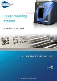 LaserTop 2000 leaflet - Technifor
