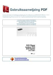 Gebruiksaanwijzing SAMSUNG DVD-HR730A