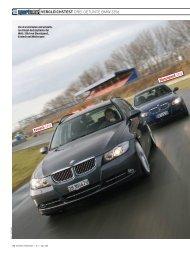 VERGLEICHSTEST DREI GETUNTE BMW 335d Evotech 335d ...