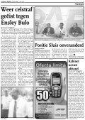 Errol Cova 'beledigde niemand' - ABCourant N.V. - Page 3
