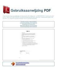 Gebruiksaanwijzing NEFF B14P42N0 - GEBRUIKSAANWIJZING PDF