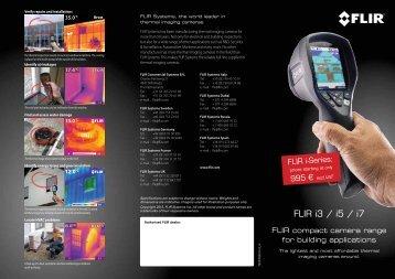 FLIR i3 / i5 / i7 - FLIR Systems