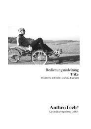 Handbuch für Modell bis 2002 - Anthrotech