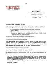 215 PROCES-VERBAL de la séance du Conseil communal du ...