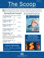 Spring Break Camps! - City of Shawnee