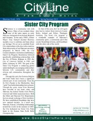 Sister City Program - City of Shawnee