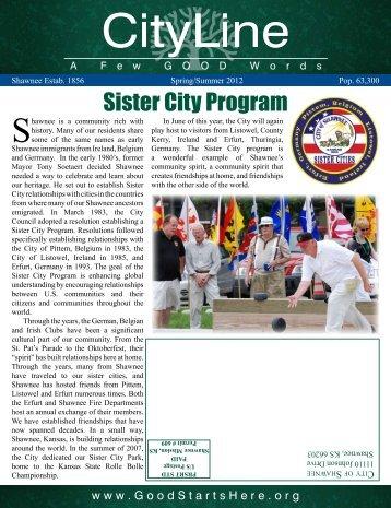 Sister City Program - City of Shawnee