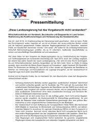 PM Tariftreue PF - handwerk Schleswig-Holstein eV