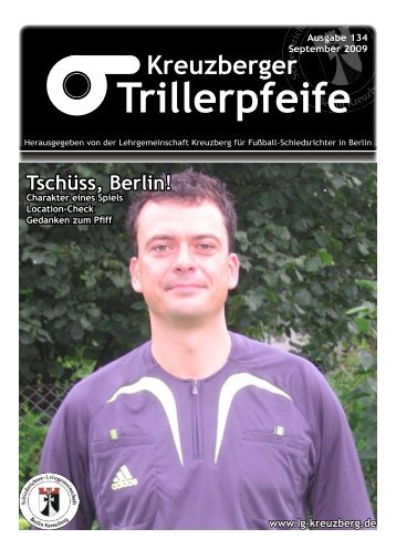Trillerpfeife Kreuzberger - LG Kreuzberg