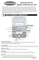 Anleitung Für Die Digitale Wild-Kamera I40 - EBSCO Information ...