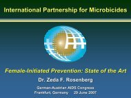International Partnership for Microbicides