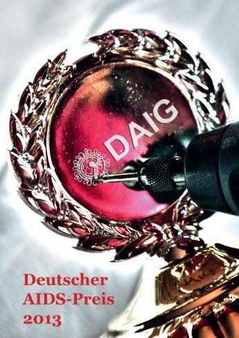 Deutscher AIDS-Preis 2013 - Deutsche AIDS Gesellschaft eV