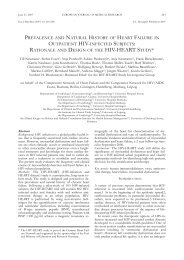 rationale and design of the hiv-heart study