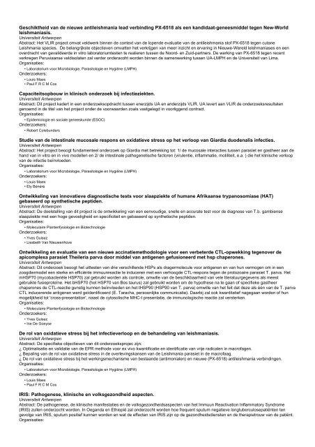 Onderzoeksprojecten (1 - 44 van 44)