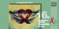 AIDS/ Hepatitis - Gemeinschaftsklinikum Koblenz-Mayen