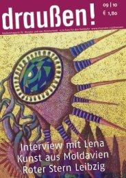 Interview mit Lena Kunst aus Moldavien Roter Stern Leibzig - Draußen