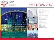 DER DÖAK 2007