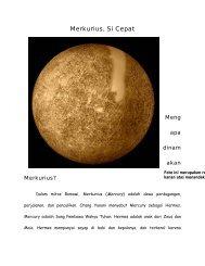 Merkurius, Si Cepat - Staff UNY