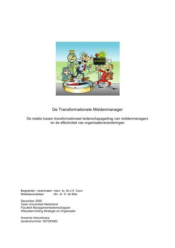 De Transformationele Middenmanager - DSpace at Open ...