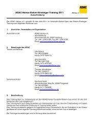 Ausschreibung ADAC-Hansa-Slalom-Einsteiger ... - ASC Breitenfelde