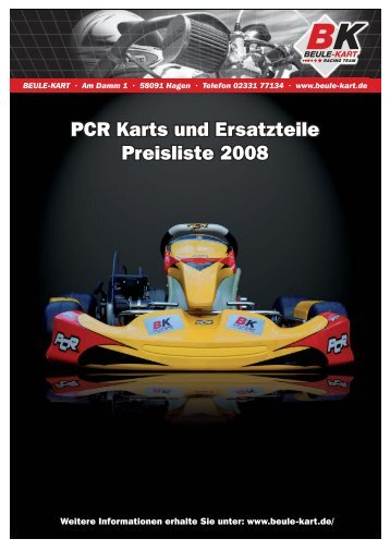 Ersatzteilpreisliste PCR 2008 - ASC Breitenfelde
