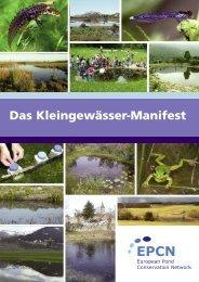 Das Kleingewässer-Manifest