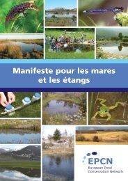 Manifeste pour les mares et les étangs - Haute école du paysage, d ...