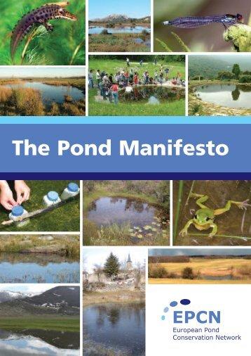 The Pond Manifesto