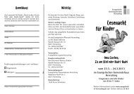 Lesenacht für Kinder - Evangelische Kirchengemeinde Herrsching ...