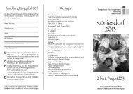 Königsdorf 2013 - Evangelische Kirchengemeinde Herrsching ...
