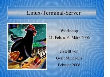 Linux-Terminal-Server