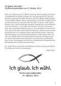 Gemeindebrief Juni bis August 2012 - Evangelische ... - Page 7
