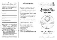 Kinderfreizeit - Ostern 2013 - Evangelische Kirchengemeinde ...