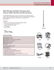 base station antennas - omnidirectional fiberglass - Diltronic