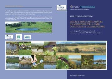un manifesto per la loro conoscenza e conservazione