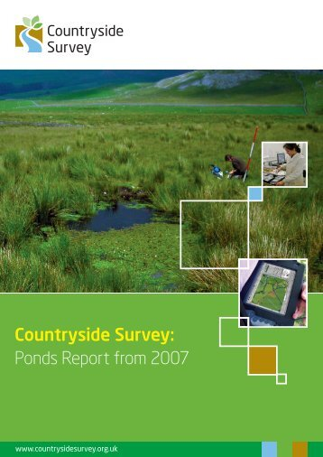 Ponds Report from 2007 - Countryside Survey