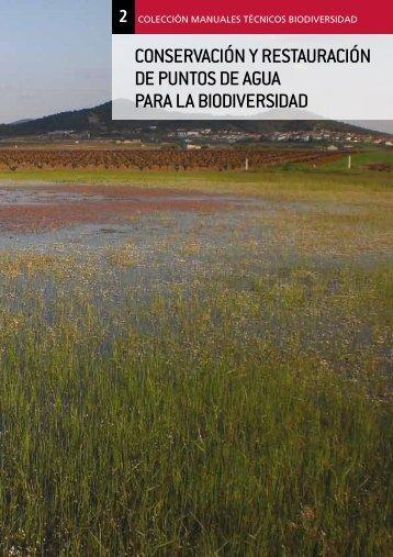 conservación y restauración de puntos de agua para la biodiversidad