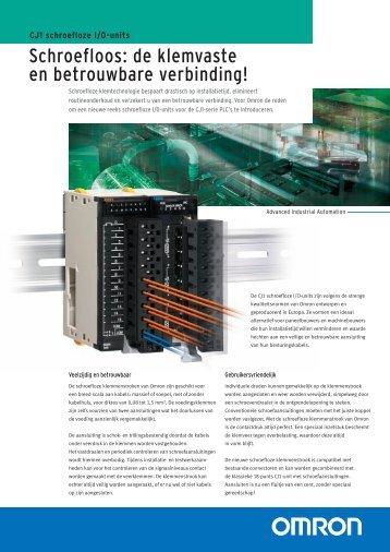 CJ1 Folder - Omron Europe